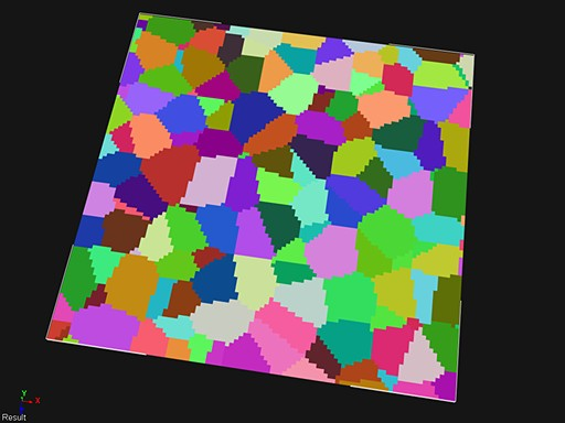 ICE cell noise Voronoi